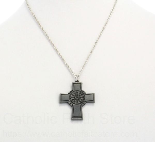 Chi Rho Cross Pendant