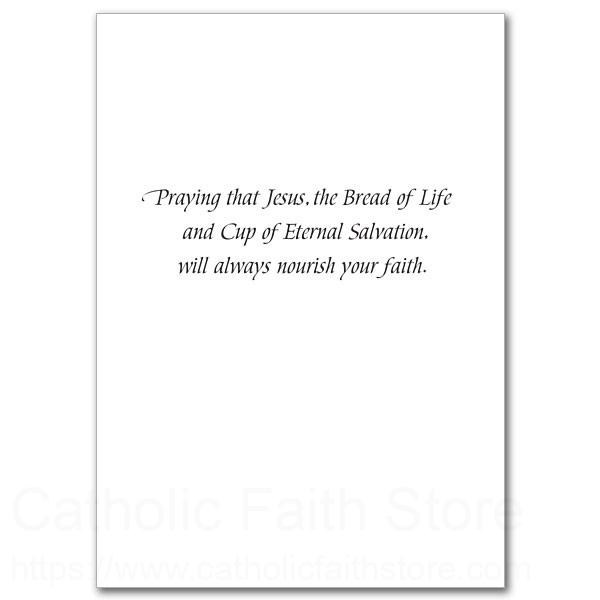 To a special daughter on her first holy communion greeting card alternate image 1 m4hsunfo