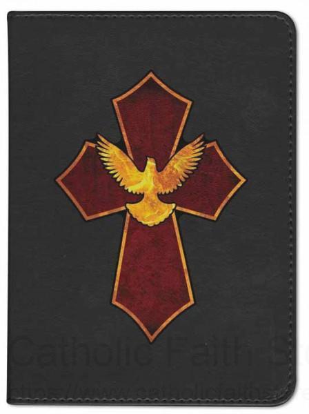 Cross And Dove Catholic Bible