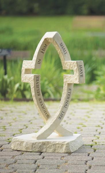 Dimensions Of Christ Crossfish Garden Statue 24 Quot
