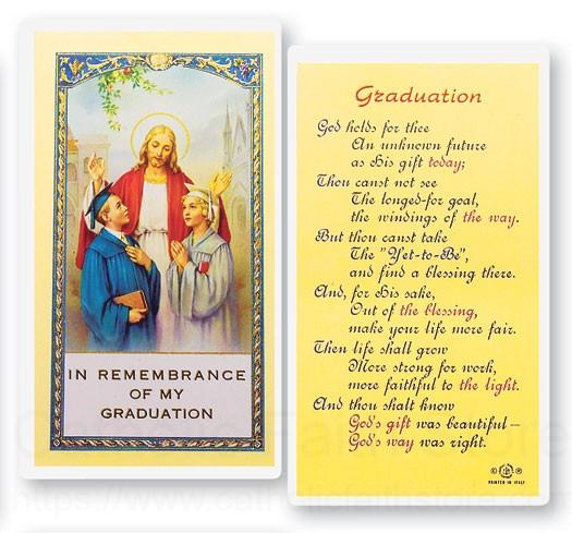 Graduation Prayer For Future Laminated Prayer Cards 25 Pack