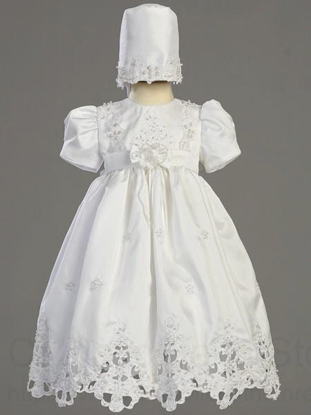 Shantung Daylength Baptism Dress