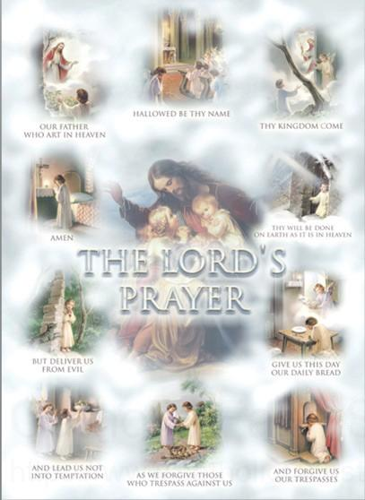 The Lord S Prayer Large Poster