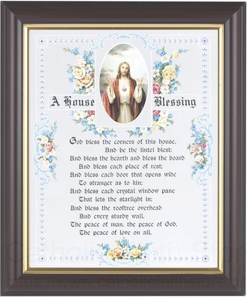 A House Blessing Prayer Framed Print