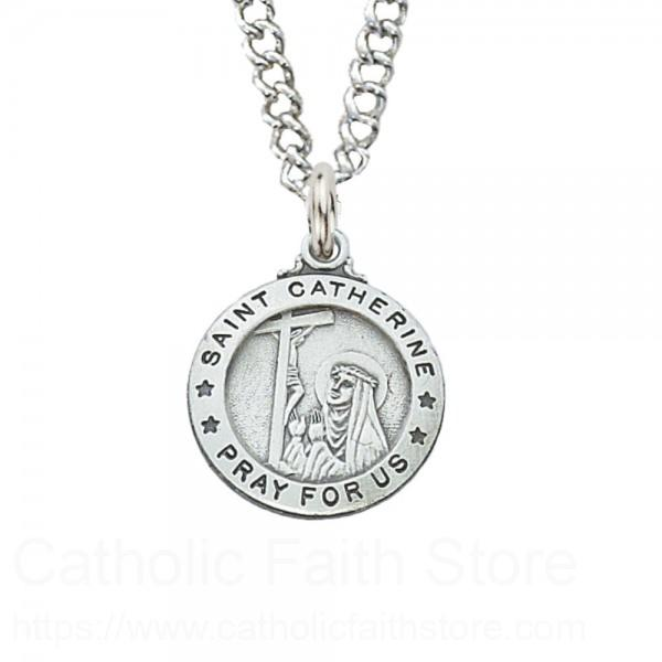 St Catherine Of Siena Medal Smaller
