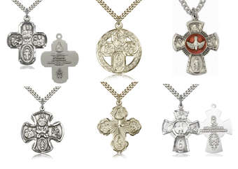 Catholic Jewelry - Religious Medals, Pendants, Crucifixes, Necklaces