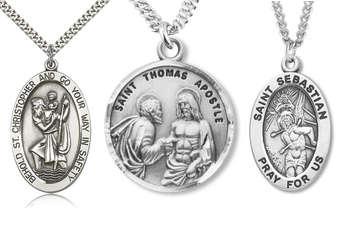 Catholic Jewelry - Religious Medals, Pendants, Crucifixes