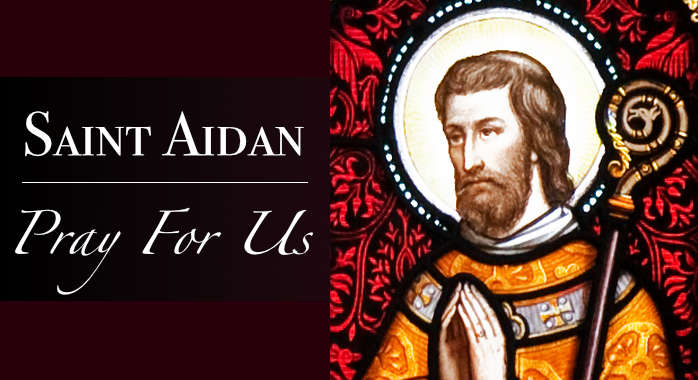 Saint Aidan Necklace