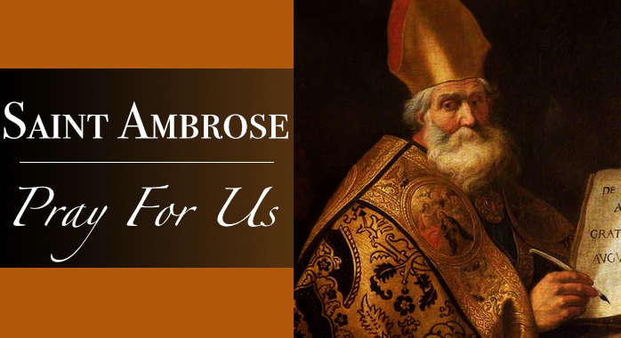 Saint Ambrose Necklace