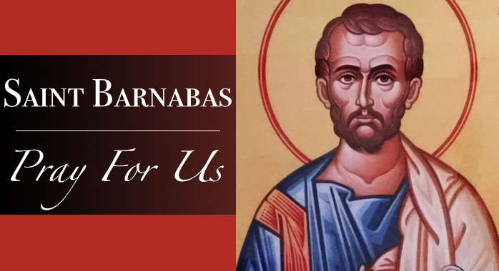 Saint Barnabas Necklace