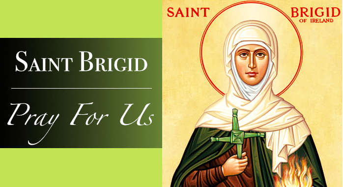 Saint Brigid Necklace