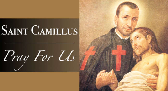 Saint Camillus Necklace