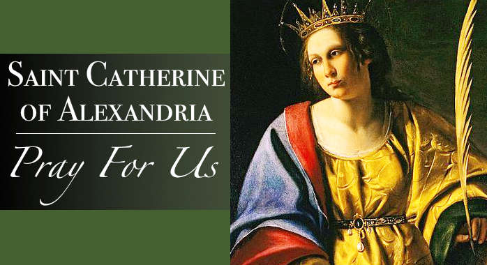 Saint Catherine of Alexandria Necklace