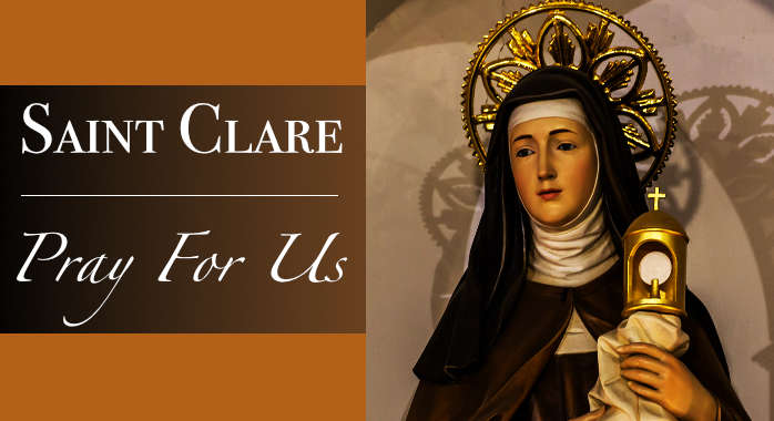 Saint Clare Necklace