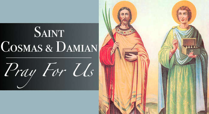Saint Damian and Cosmas Necklace