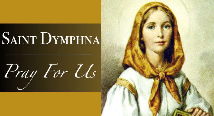 Saint Dymphna Necklace