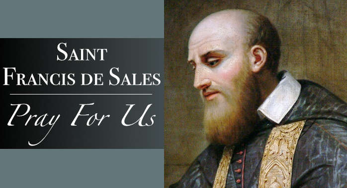 Saint Francis de Sales Necklace