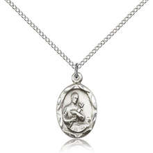 View all saint gerard necklace saint gerard medal with necklace best selling saint gerard pendant aloadofball Image collections
