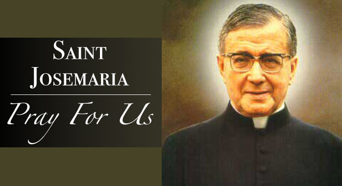 Saint Josemaria Necklace