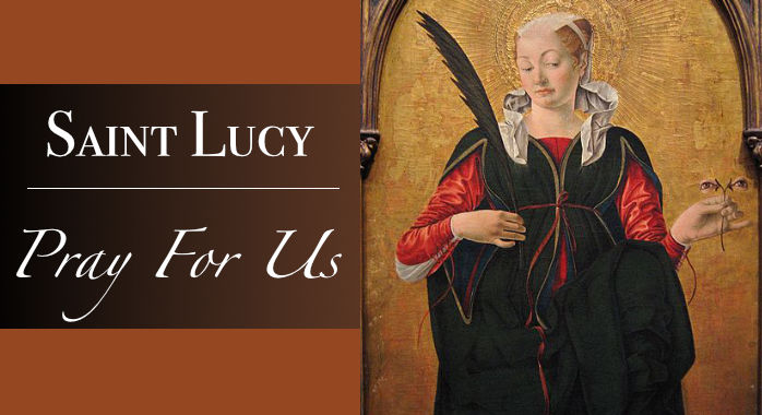 Saint Lucy Necklace