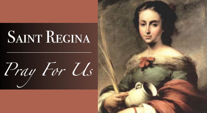 Saint Regina Necklace