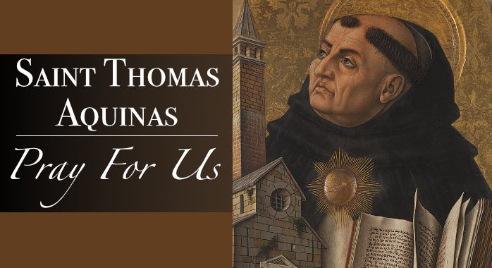 Saint St. Thomas Aquinas Necklace