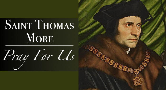 Saint St. Thomas More Bracelet