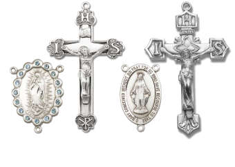 Rosary Crucifix Rosary Centerpiece