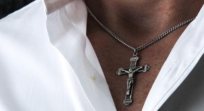 View all crucifix pendants catholic faith store jewelry crucifix pendants aloadofball Choice Image