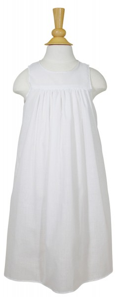 "24"" Polycotton Slip for Christening Dress - White"