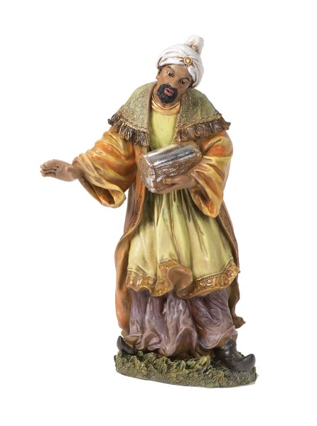 "African Wise Man Statue 26"" H for 27"" Scale Nativity Set - Multi-Color"