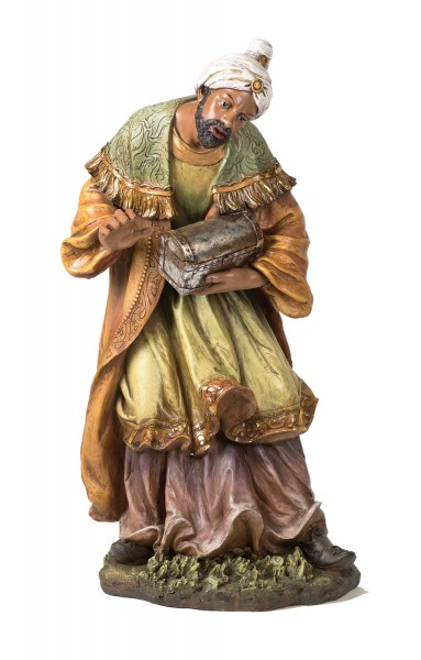 "African Wise Man Statue - 37"" H - Multi-Color"