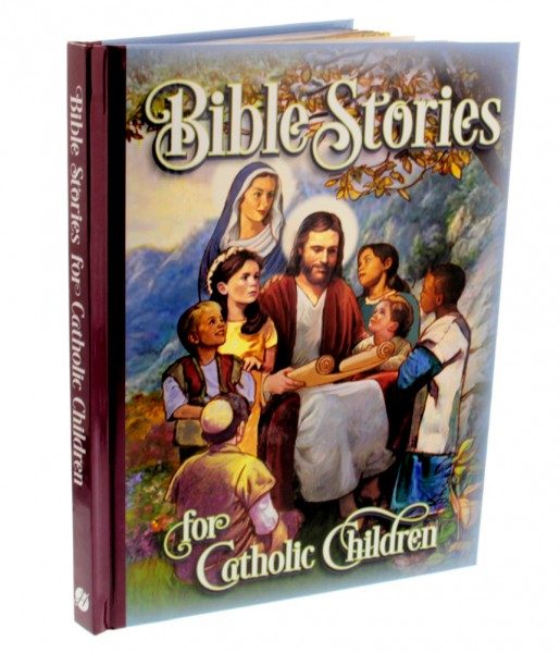 Bible Stories for Catholic Children, Hardcover Book - Multi-Color