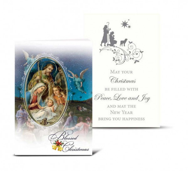 Blessed Christmas, Christmas Card Set - Full Color