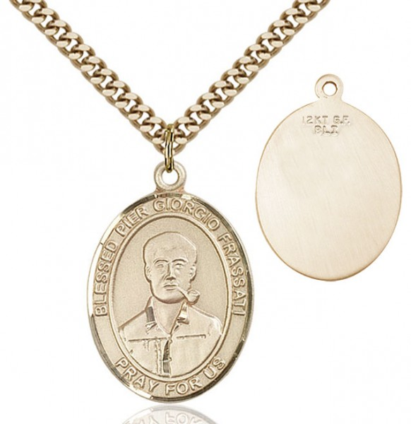 Blessed Pier Giorgio Frassati Medal - 14KT Gold Filled
