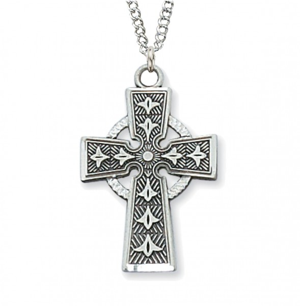 Women's Celtic Cross Pendant - Silver