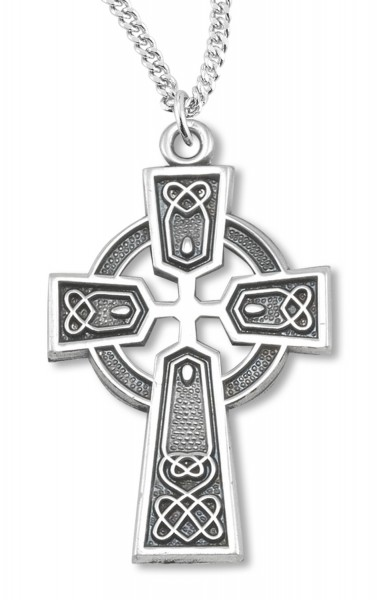 Celtic Cross Sterling Silver - Silver