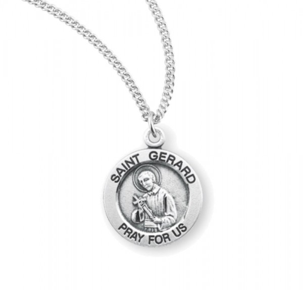 Child's St. Gerard Charm Necklace - Sterling Silver