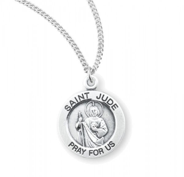 Child's St. Jude Necklace - Sterling Silver