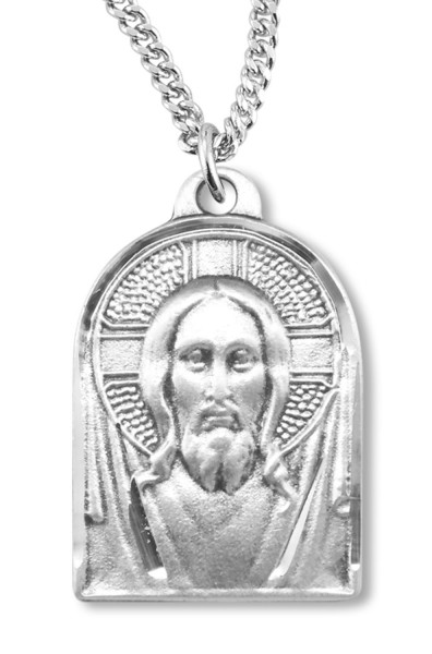 Christ Medal Sterling Silver - Silver