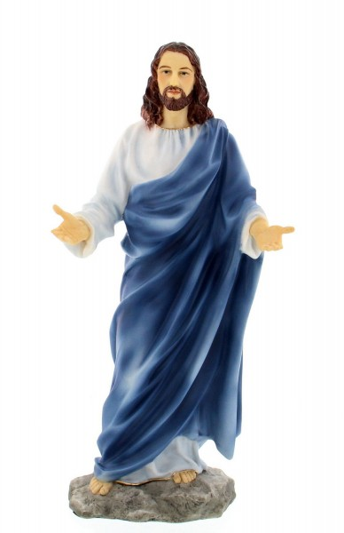 Christ Statue - 12 Inches - Multi-Color