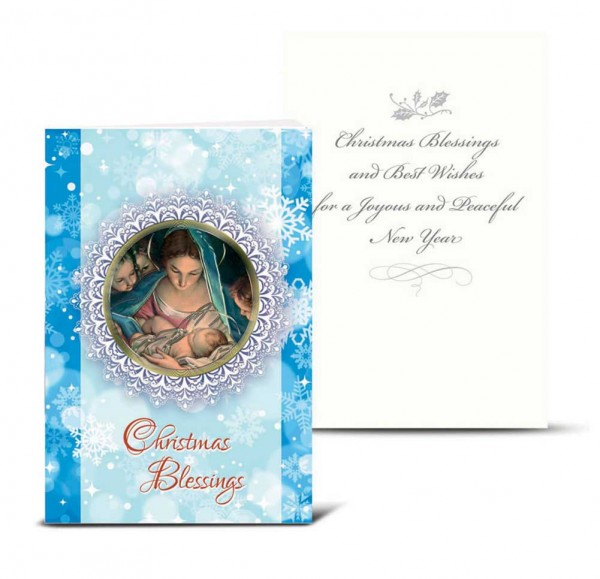 Christmas Blessings Christmas Card Set - Full Color