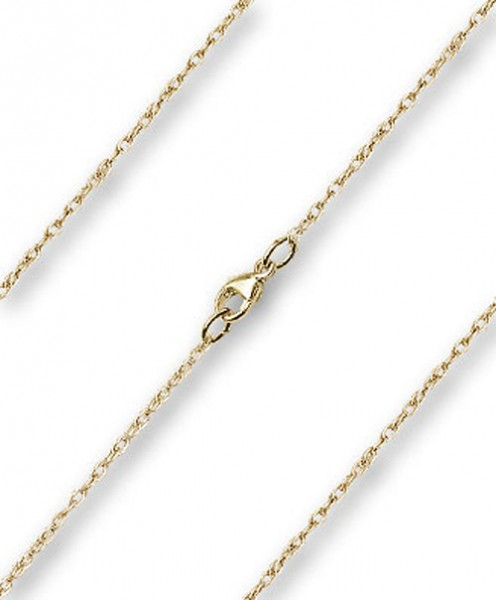 Dainty Rope Chain w. Clasp Multiple Lengths Metals - 14KT Gold Filled