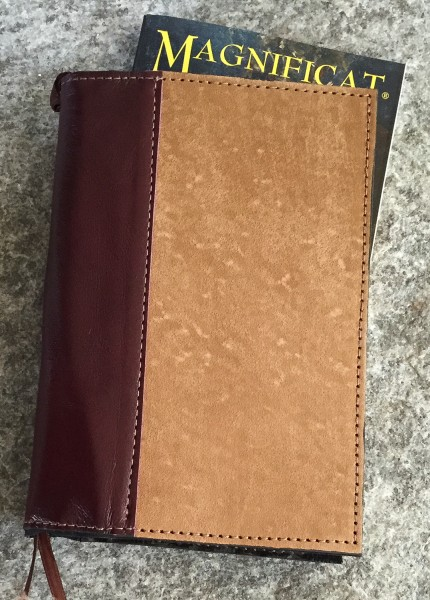 Regular Deluxe Magnificat Magazine Leather Cover - Brown Ribbon | Sandy Cover