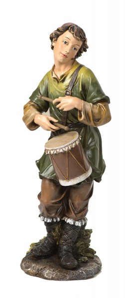 "Drummer Boy Statue - 23.5"" H for 27"" Scale Nativity Set - Multi-Color"
