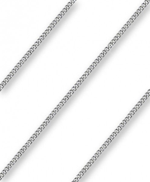 Endless Medium Curb Chain Various Sizes Metals - Sterling Silver