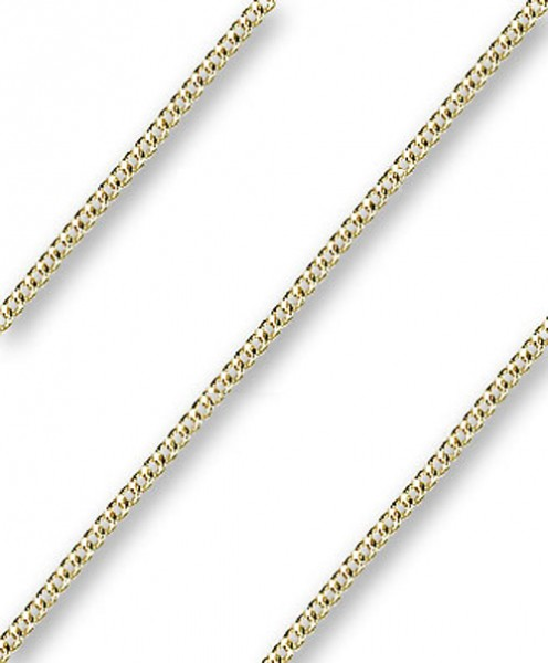 Endless Men's Heavy Curb Chain - 14K Solid Gold