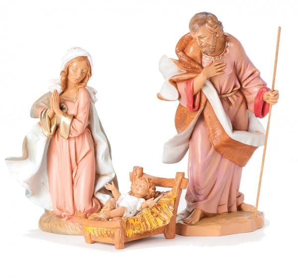 "Holy Family Nativity Set - 12""H - Multi-Color"