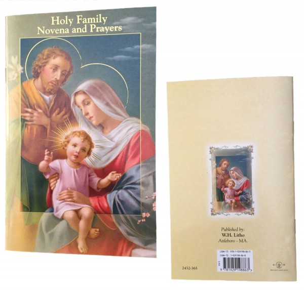 Holy Family Novena Prayer Pamphlet - Pack of 10 - Full Color
