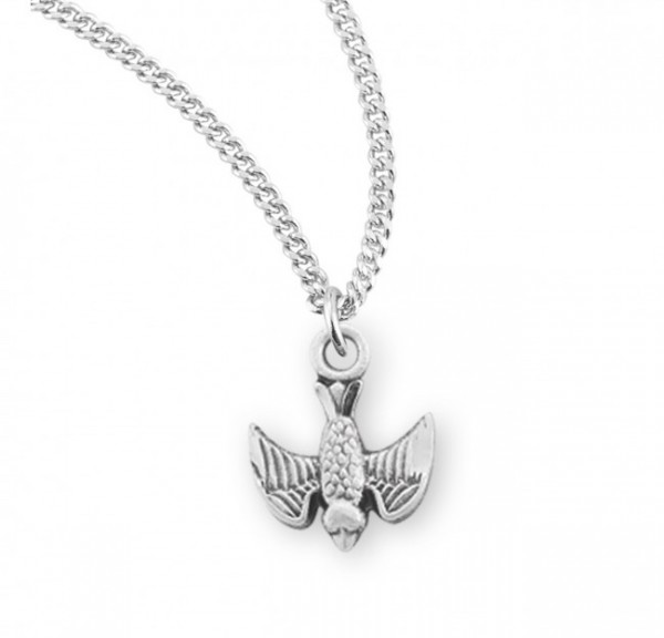 Holy Spirit Medal - Sterling Silver